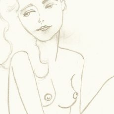 Mujer pelirroja